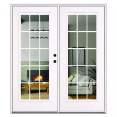 Outswinging Double French Doors