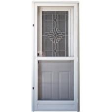"""Cordell 925 Series Combination Door with 36"""" Laurel Decorative Window"""