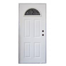 Cordell Laurel Sunburst Outswing Door