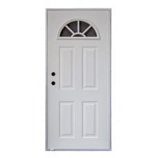Cordell Sunburst Outswing Door