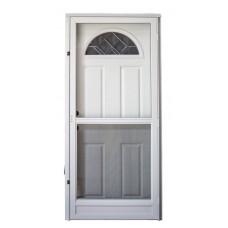 Cordell 925 Series Combination Door with WP Decorative Sunburst Window