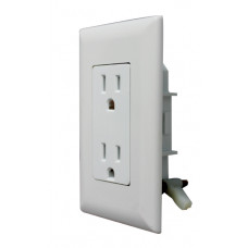 Self-Contained Decorator Receptacle