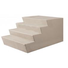 "72"" Wide Fiberglass Steps"