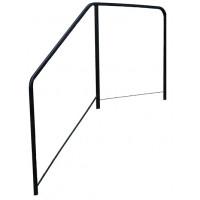 Standard Side Rail for Wood Platform Steps