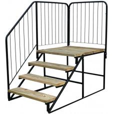 Wooden Platform Steps